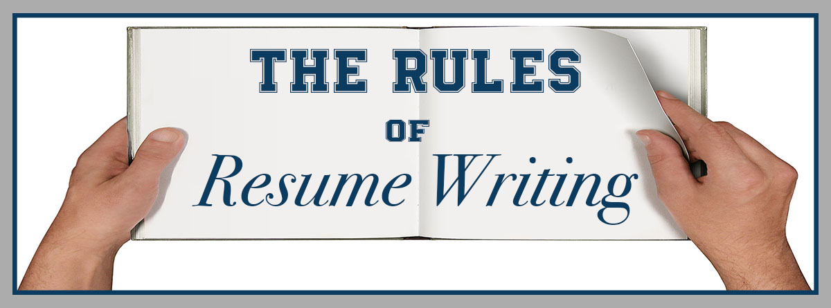 the rules of resume writing advantage solutions careers